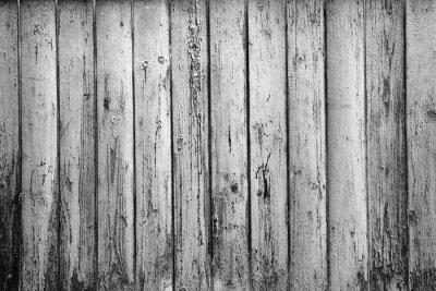 Fototapete Strukturierten Hintergrund der alten Boards. Schwarzweiss-Fotografie