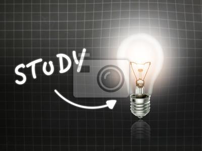 Design Tafel Lamp : Study birnen lampe energie leicht tafel fototapete u fototapeten