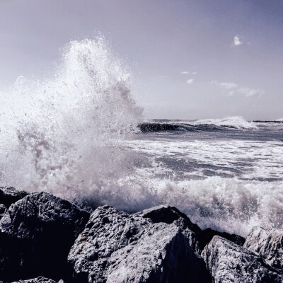 Fototapete Sturm in Marbella