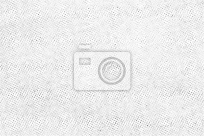Fototapete Subtle halftone vector texture overlay. Monochrome abstract splattered background.