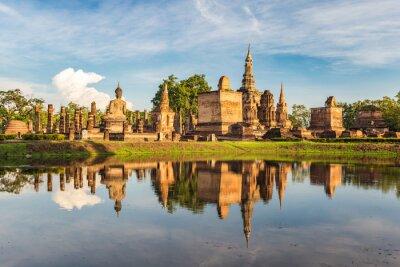 Fototapete Sukothai Historischer Park, Thailand