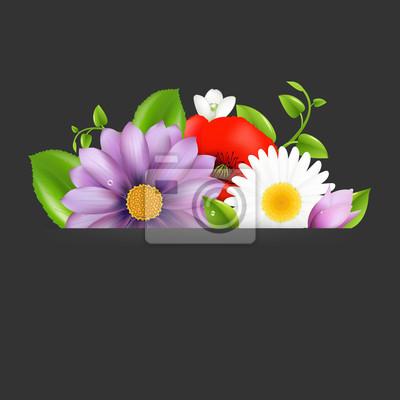 Summer Flowers mit Teiler