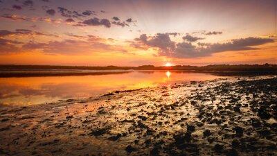 Fototapete Sun Painted Shore Redeux