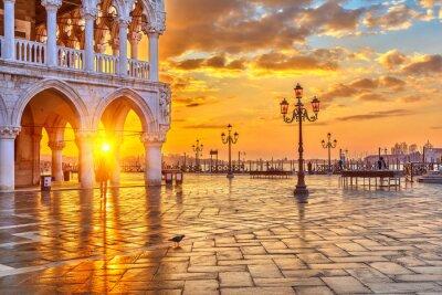 Fototapete Sunrise in Venice