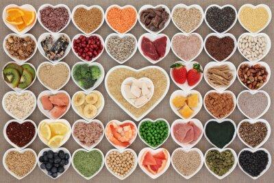 Fototapete Super Gesundheit Nahrung