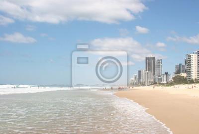 Surfers Paradise Beach in Australien