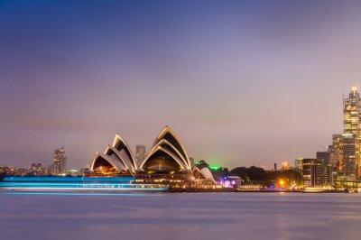 Fototapete SYDNEY - 12. Oktober 2015: Das Iconic Sydney Opera House ist ein mu