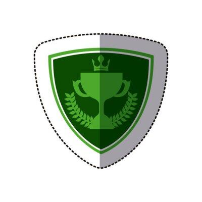 Symbol Golf Emblem Symbol Bild, Vektor-Illustration