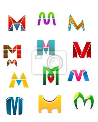 Symbole der Buchstabe M