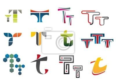 Symbole des Buchstaben T