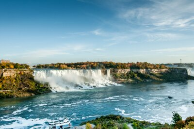 Fototapete Szenische Ansicht der Niagara Falls im Herbst