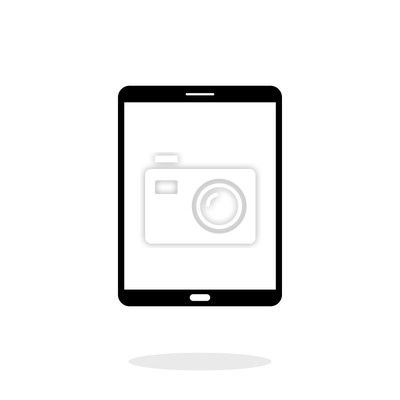 Tablet-ikone, vektor-illustration technologie flache design grafik ...