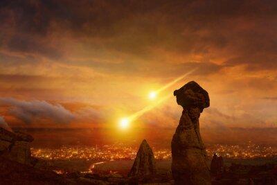Tag Des Jüngsten Gerichts Ende Der Welt Asteroidenschlag