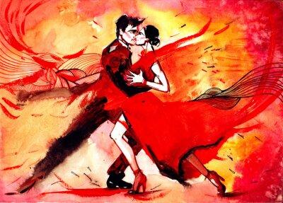Fototapete Tango