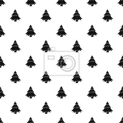 Tannenbaum Muster.Fototapete Tannenbaum Muster Einfache Darstellung Der Tannenbaum Vektor Muster
