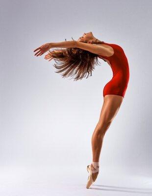 Fototapete Tänzer Ballerina