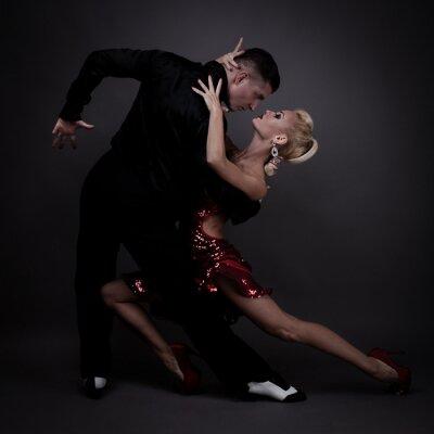 Fototapete Tanzpartner