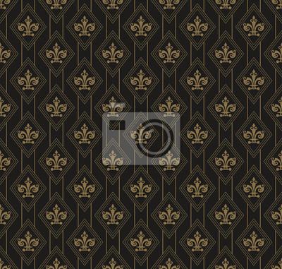 fototapete tapete muster art deco vektor - Tapeten Muster