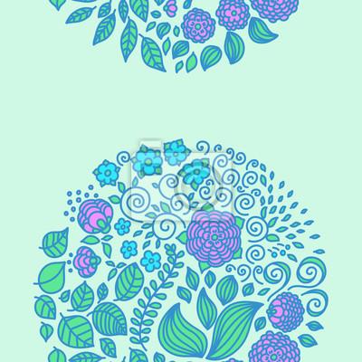 Tattoo floral doodle vector elements set decor background.