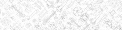 Fototapete Technical drawing background .Mechanical Engineering background . . Technology Banner.Vector illustration .