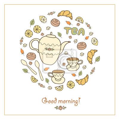 Tee, Kaffee und Süßigkeiten