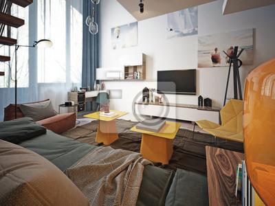 Teen Zimmer Modern Fototapete Fototapeten Oberkorper