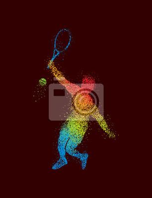 Tennis Art 4 Dark