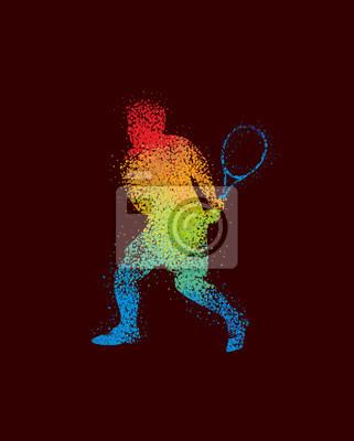 Tennis Art 5 Dark
