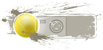 Tennisball banner