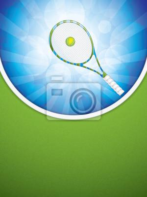 Tennisbroschüre
