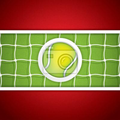 Tennisentwurf