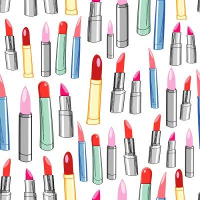 Fototapete Textur des Lippenstifts