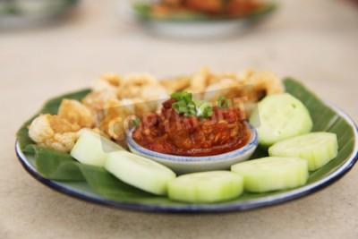 Thailändische Küche | Thailandische Kuche Vorspeise Nam Prik Aong Thai Northern Style