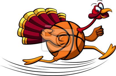 Thanksgiving Turkey Basketball