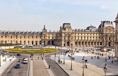 Fototapete The Louvre Museum in Paris