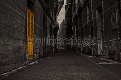 Fototapete The Yellow Door