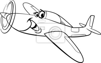 Tiefdecker Flugzeug Malvorlagen Fototapete Fototapeten