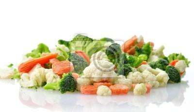 Tiefgekühltes Gemüse