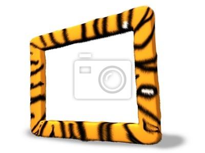 Tiger Fotorahmen