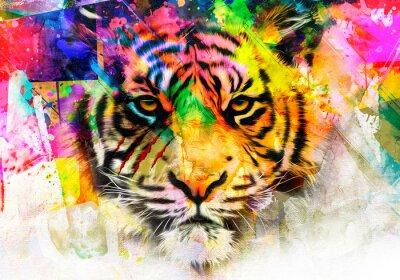 Fototapete tiger in the jungle