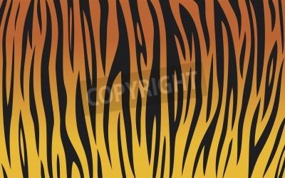 Fototapete Tigerfell (Tiger Textur abstrakten Hintergrund, zog Tiger Design, nahtlose Tigerfell, Tigerfell Hintergrund)