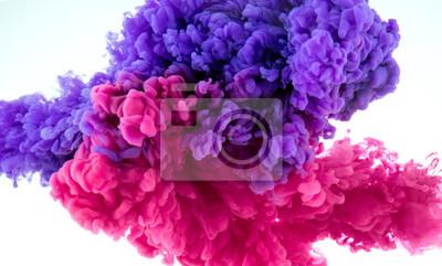 Fototapete Tinte Farbe splash in Wasser - Mix Hintergrund