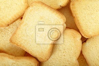 Toast Zwieback Hintergrund