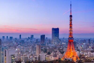 Fototapete Tokyo Tower, Tokyo, Japan