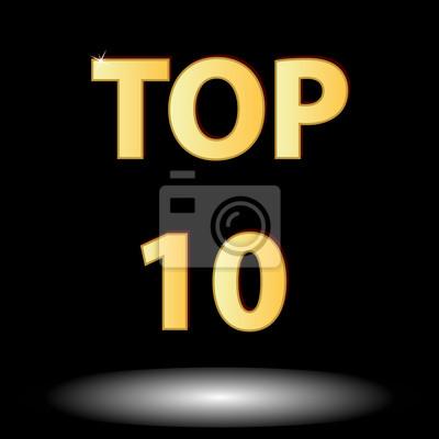 Top zehn Symbol