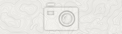 Fototapete topographic line contour map background, geographic grid map