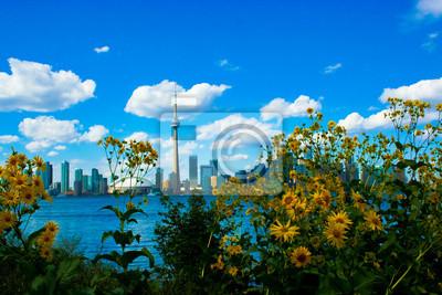 Toronto Skyline an einem schönen Tag