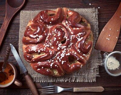 Fototapete Torten- und Küchenutensilien