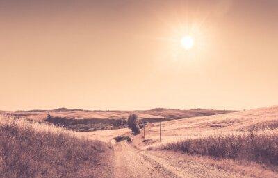 Fototapete Toskanischen Sommerlandschaft