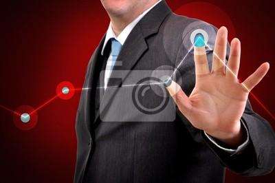 Fototapete Touch-Screen